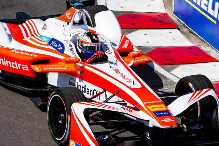 海外レース他 | フォーミュラE:マヒンドラ、グッドウッド・フェスティバルで来季型マシンをお披露目