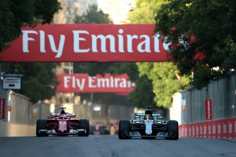 F1 | F1アゼルバイジャンGPでの接触について「無礼なベッテルと話し合うことに興味はない」とハミルトン