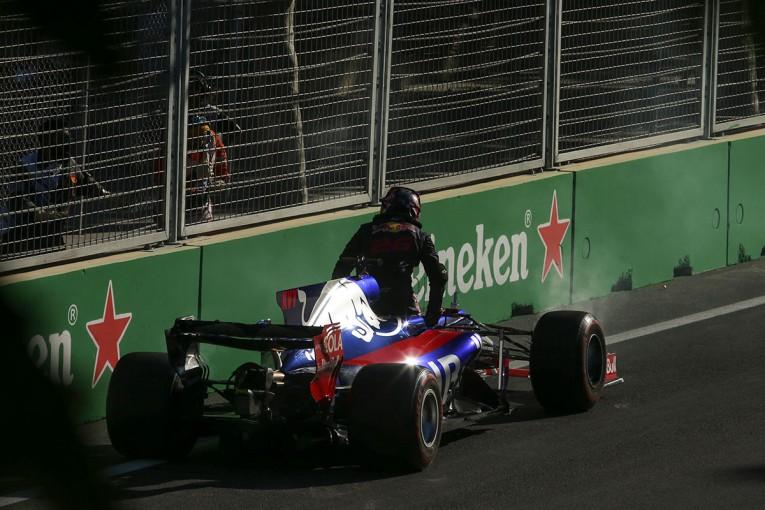 F1 | クビアト「クルマが勝手にシャットオフしてレースが終わった」:トロロッソ F1アゼルバイジャン日曜