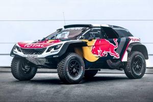ラリー/WRC | 大型ボディで安定性向上。プジョー、2018年ダカール投入『3008DKR Maxi』発表