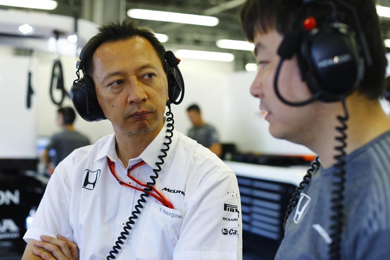 2017年F1第8戦アゼルバイジャンGP ホンダF1プロジェクト総責任者の長谷川祐介氏