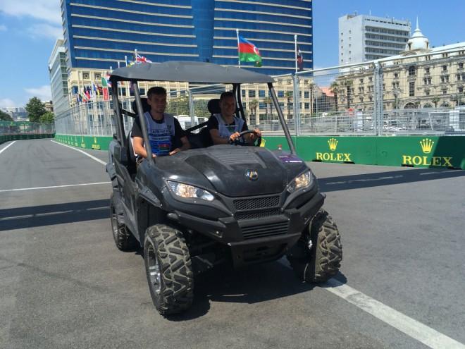 F1アゼルバイジャンGP 現地情報 日曜