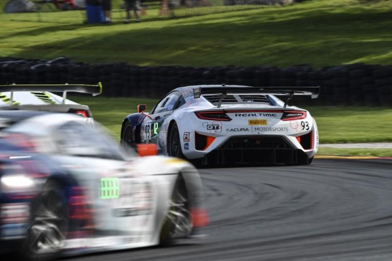 海外レース他 | PWC:第6戦ロードアメリカ、アキュラNSX GT3のホームで今季ベストの5位入賞