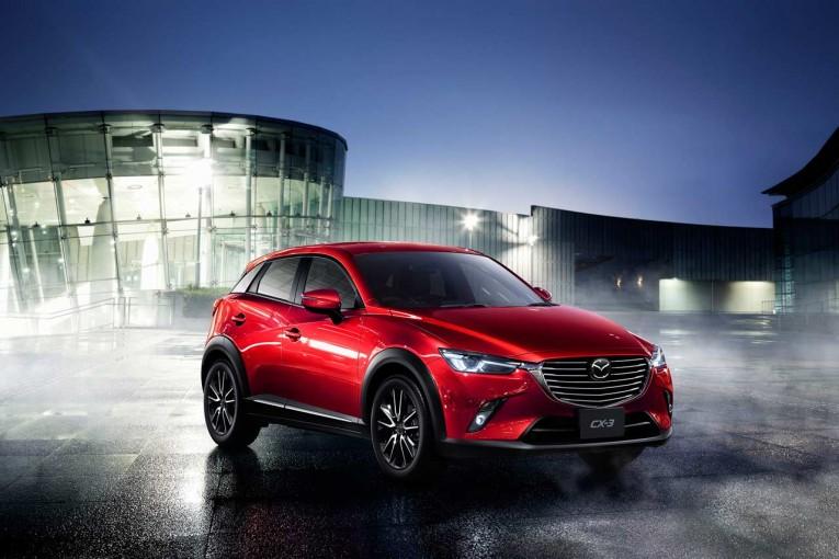 クルマ | マツダ、『CX-3』を一部改良。ガソリンエンジン車の追加、先進安全技術を標準装備