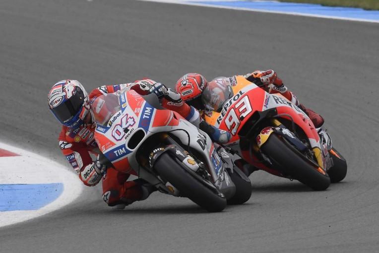 MotoGP   MotoGP:ランキングトップに立ったドビジオーゾ「3連勝を狙うにはリスクが高すぎた」