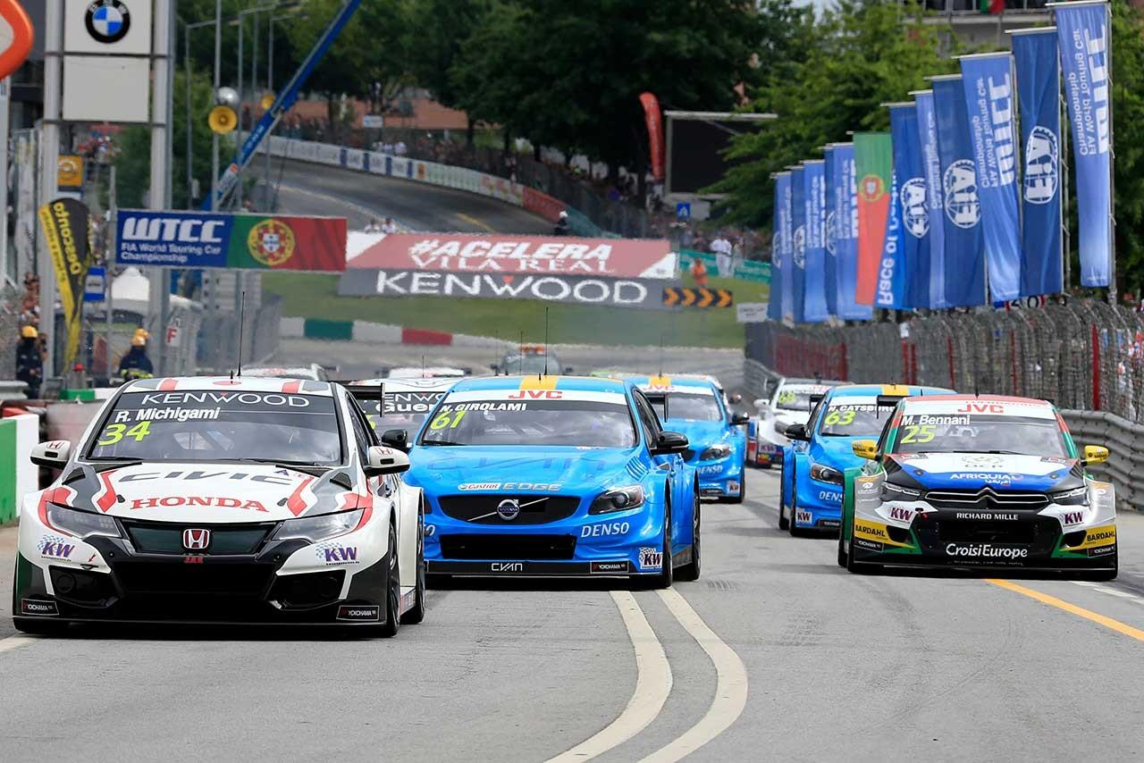 WTCC:ポルトガル初導入のジョーカーラップをドライバーが賞賛。レースが「より戦術的に」