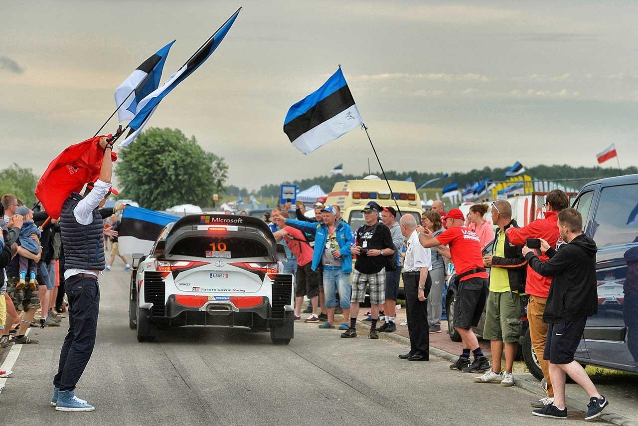 WRC:トヨタ、雨のポーランドでラトバラ4番手。ラッピのエンジン不調は「原因をほぼ把握」