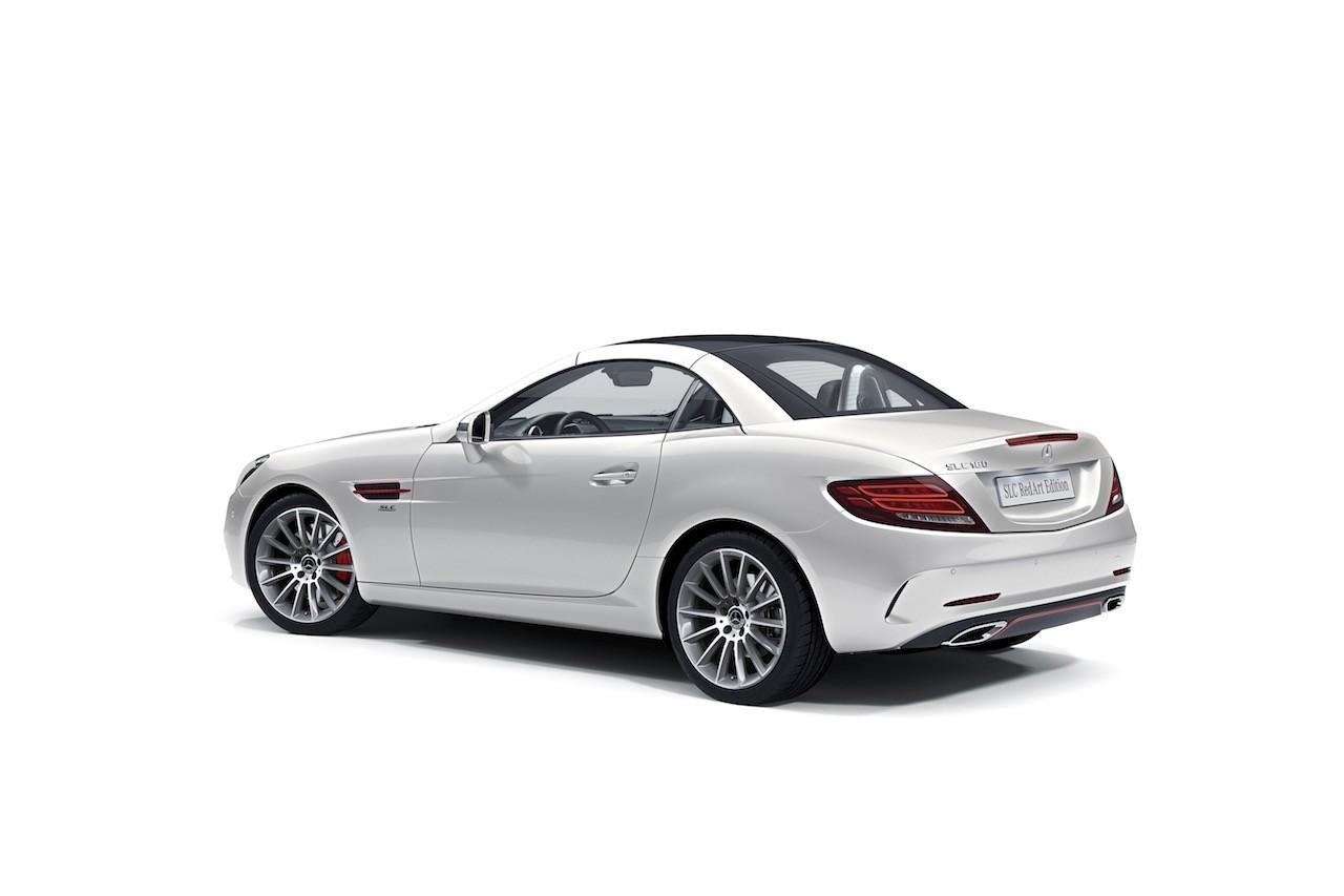 メルセデス・ベンツSLC&43AMGに、スポーティな特別仕様車『RedArt Edition』登場