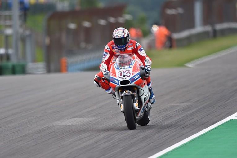 MotoGP | MotoGPドイツGP初日:ドビジオーゾが総合トップ。ウエットのFP2はバルベラが最終アタックで逆転