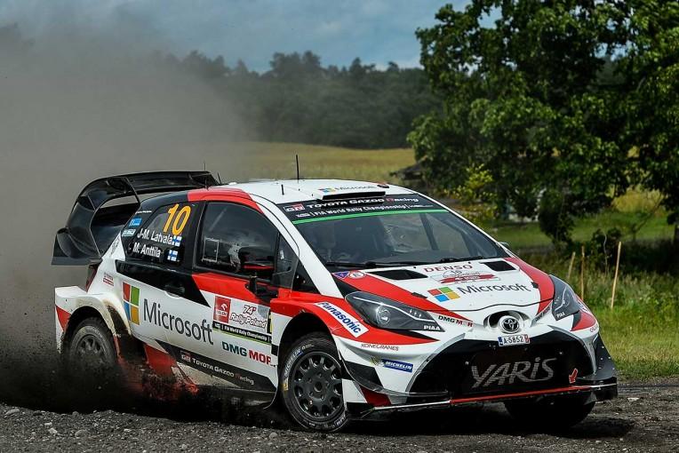 ラリー/WRC   ラトバラがデイリタイア/【順位結果】世界ラリー選手権第8戦ポーランド SS19後