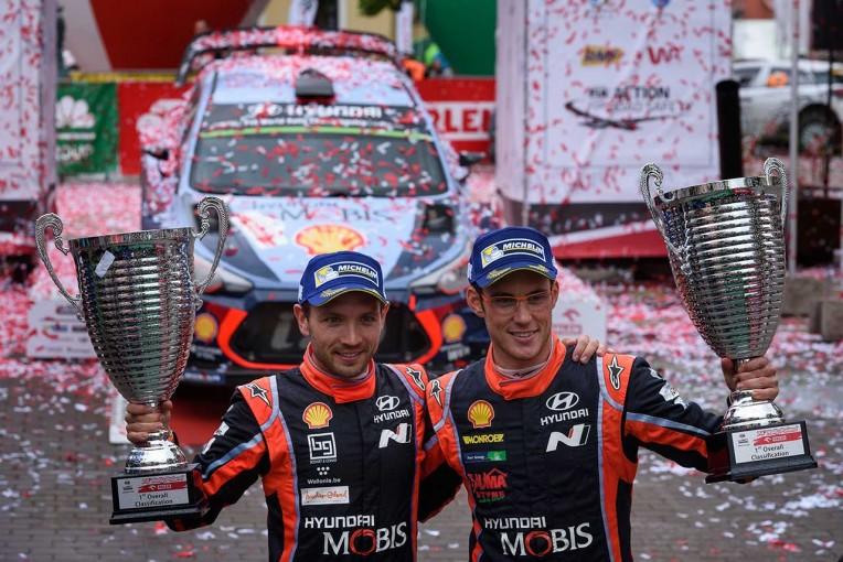 ラリー/WRC | WRCポーランド:優勝争いはタナクのクラッシュで幕切れ。ヌービルが今季3勝目