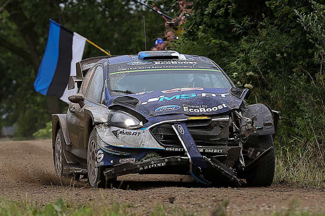 WRCポーランド:優勝争いはタナクのクラッシュで幕切れ。ヌービルが今季3勝目