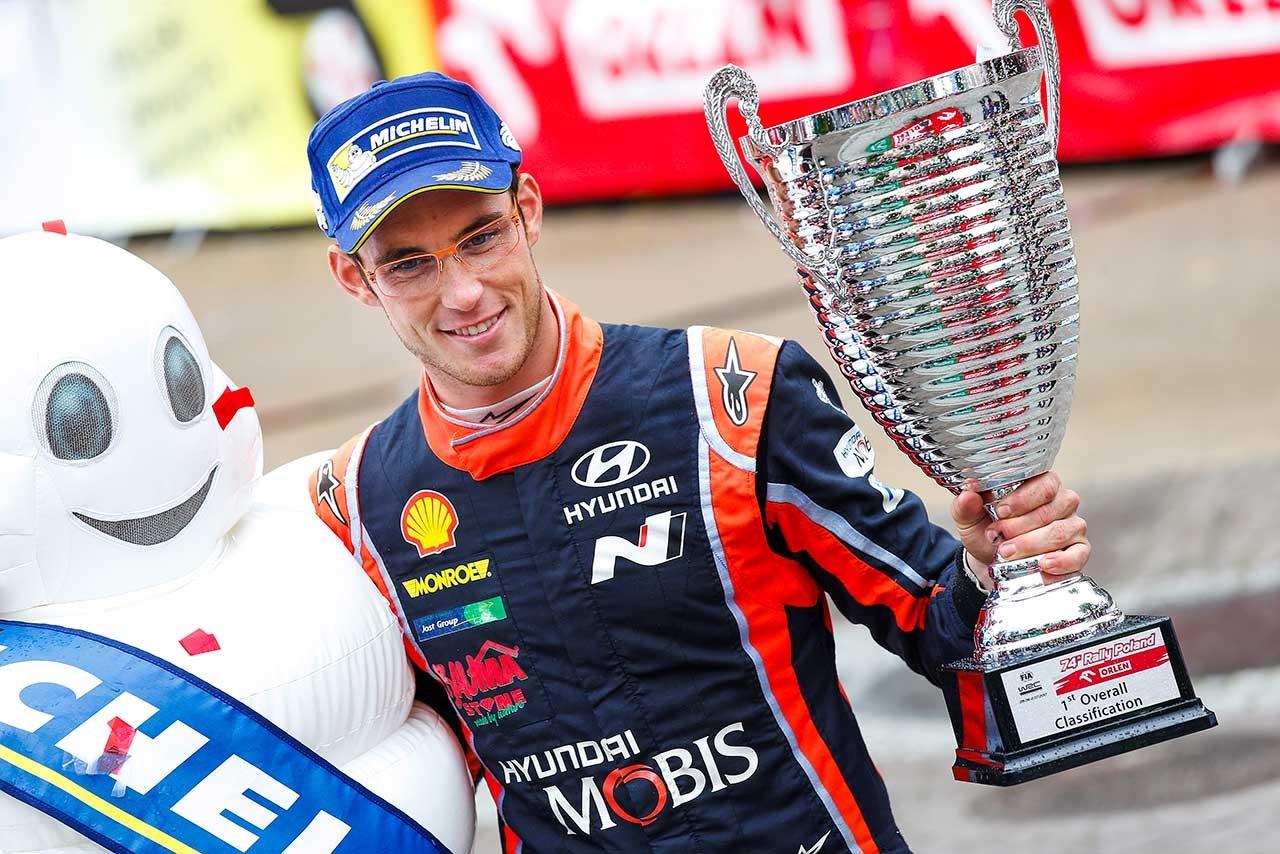 ラトバラ「次戦以降もライバルと対等に戦えるという自信を得た」/WRC第8戦ポーランド デイ4コメント