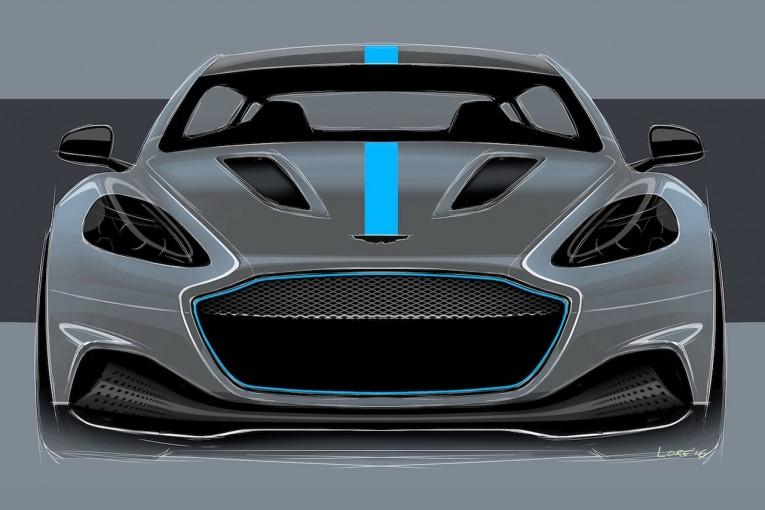 クルマ | アストンマーチン、同社初の完全電気自動車『RapidE』の生産を発表