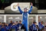 海外レース他 | NASCAR第17戦:ステンハウスJr.2勝目。トヨタのルーキーは残り2周で11台交わす