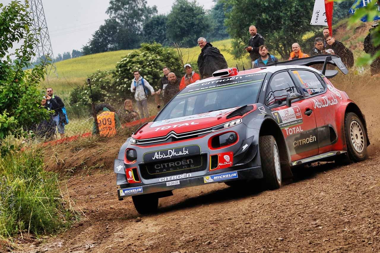 シトロエン WRC第8戦ポーランド ラリーレポート