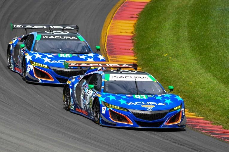 ル・マン/WEC | IMSA:残り35分でワン・ツー逃すも、93号車NSX GT3がポール・トゥ・ウインで2連勝