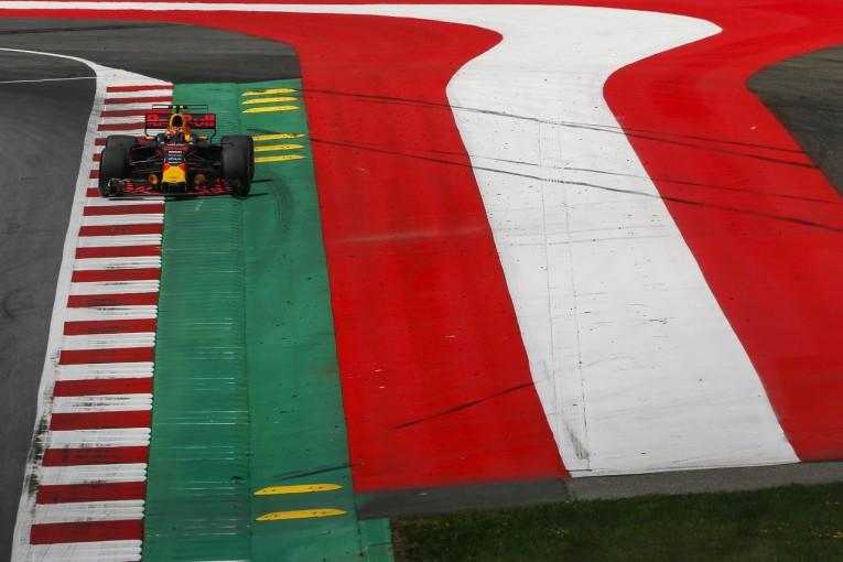 F1 | フェルスタッペン「オーストリアの縁石はF1向きじゃない」:レッドブル F1金曜