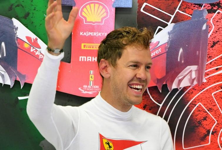F1 | ベッテル「マシンの感触はいい。前戦ほどメルセデスとの差は大きくないはず」フェラーリ F1金曜