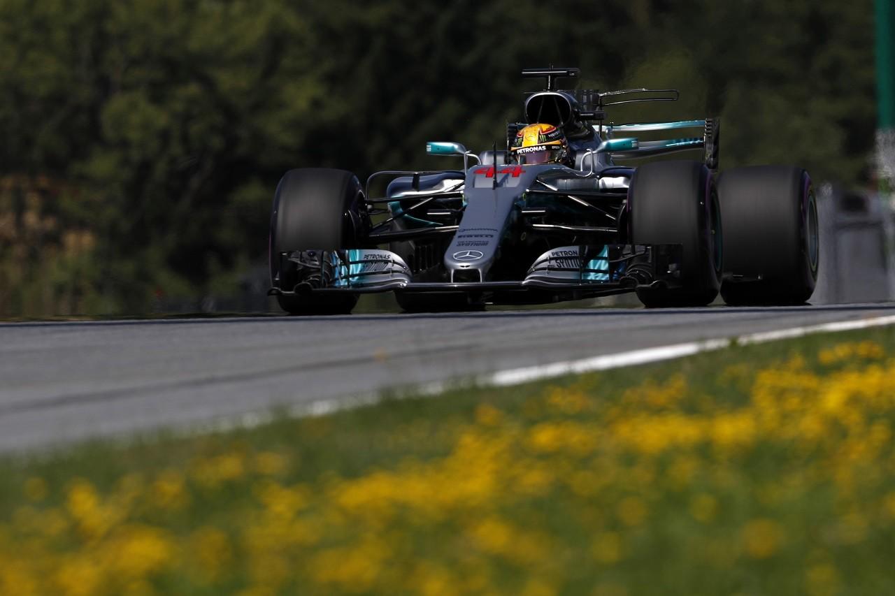 2017年F1第9戦オーストリアGP ルイス・ハミルトン(メルセデス)