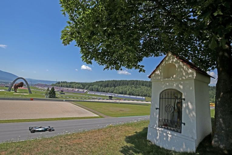 F1 | ボッタス「アップデートが機能している。空力面の向上を確認できた」:メルセデス F1オーストリア金曜