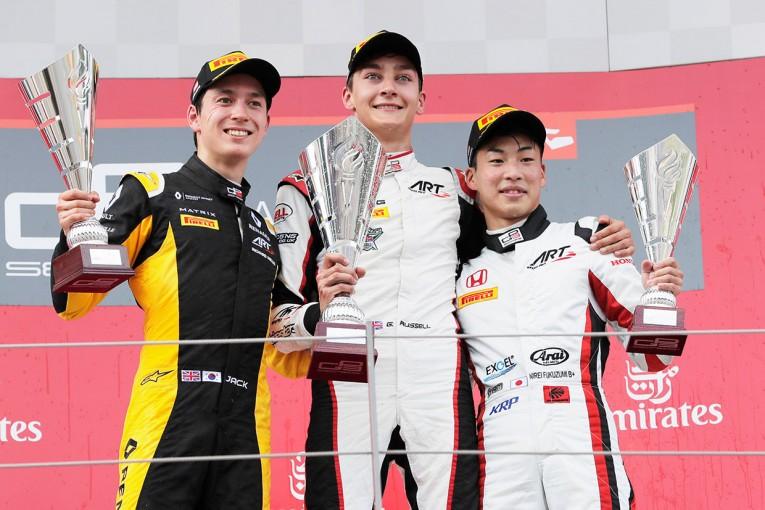 海外レース他 | 福住が3位表彰台【順位結果】GP3第2戦オーストリア決勝レース1