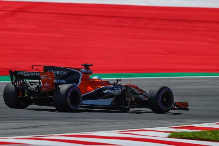 F1 | ホンダ「MGU-Hに問題、スペック3の使用を断念。それでもアロンソの走りは見事だった」/F1オーストリア土曜