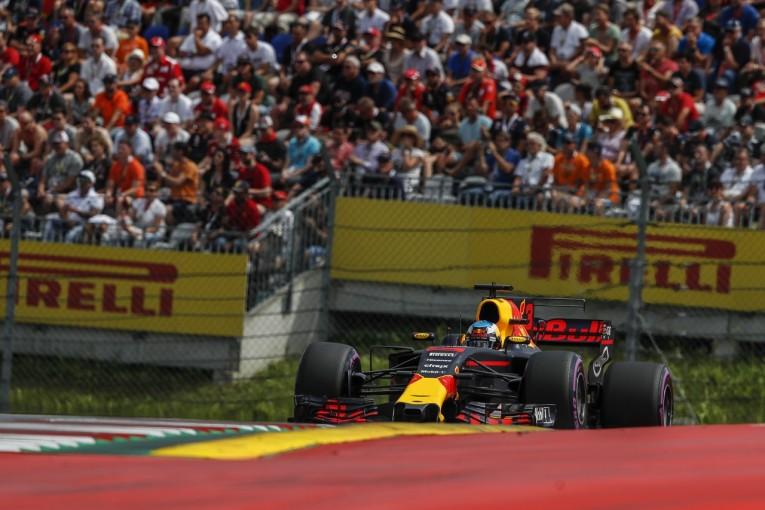 F1 | リカルド「今年グリップが向上したことで、うまくまとめるのが難しい」レッドブル F1オーストリア土曜