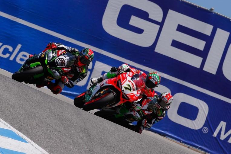 MotoGP   SBK第8戦レース1/ドゥカティのデイビスがカワサキ2台を破って4勝目を飾る