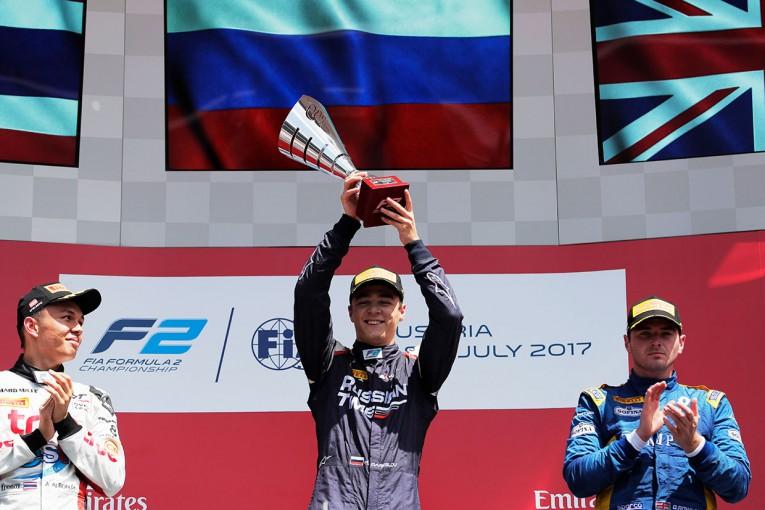 海外レース他 | 【順位結果】FIA F2第5戦オーストリア決勝レース2
