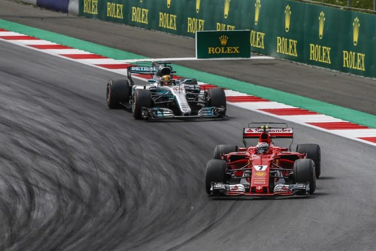 F1 | ライコネン「後半ペースが改善したが、そのころにはもうチャンスはなかった」フェラーリ F1日曜