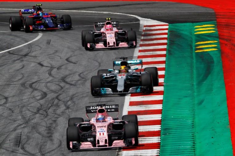 F1 | ペレス「これほど苦しんだ週末によくリカバーできた」フォース・インディアF1、2台そろってポイント獲得