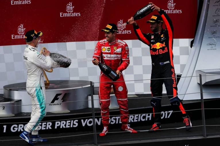 F1 | F1第9戦オーストリアGP決勝トップ10ドライバーコメント