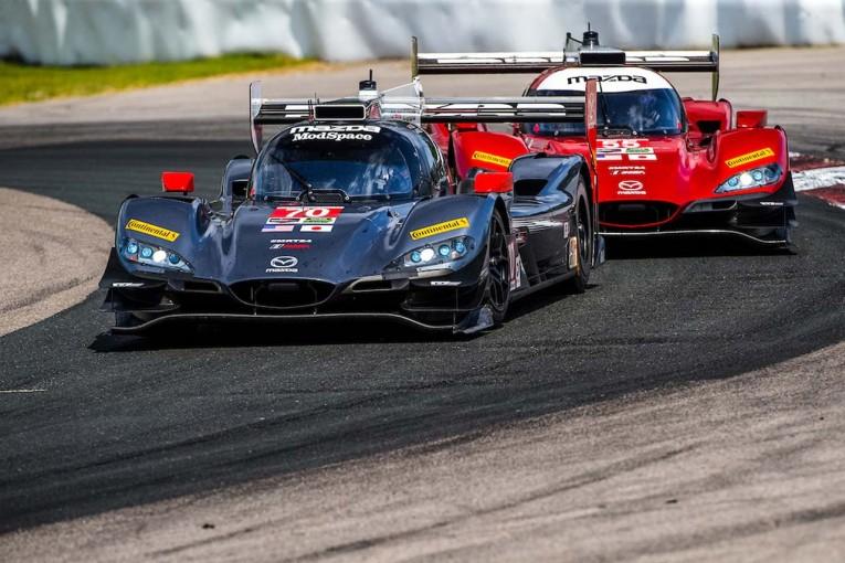 ル・マン/WEC   IMSA:マツダ、2台のRT24-Pが揃ってトップ5フィニッシュ。「降雨後のタイヤ選択が賭けだった」