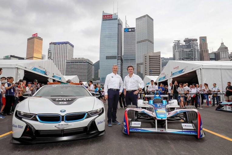 BMWが2018/19年シーズンからフォーミュラEにワークス参戦する