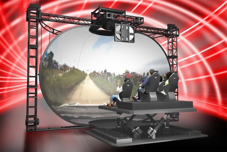 ラリー/WRC   WRCの迫力を疑似体験できるアトラクションも。トヨタ、7月15日開幕のテレ朝夏祭りに出展