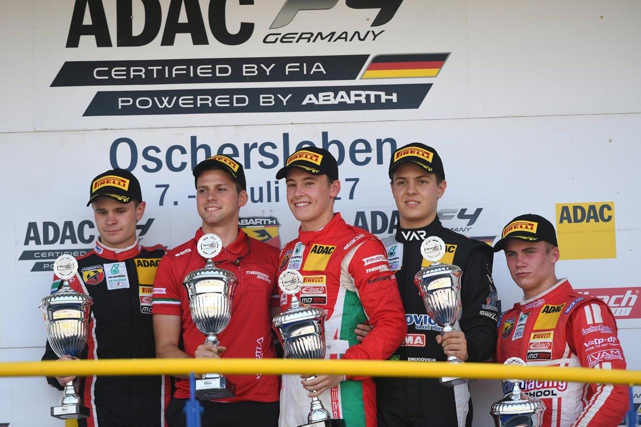 プレマ・セオドールレーシング 2017 ADAC F4第4戦オッシャーズレーベン レースレポート