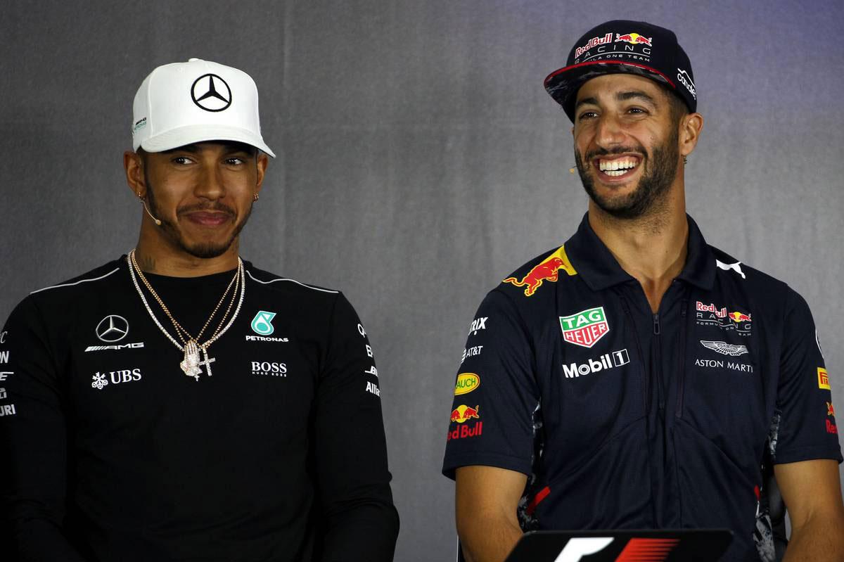 F1イギリスGP木曜会見