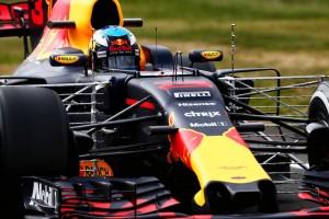 2017年F1第10戦イギリスGP FP1:ダニエル・リカルド