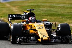 イギリスGPフリー走行2回目で7番手タイムのヒュルケンベルグ