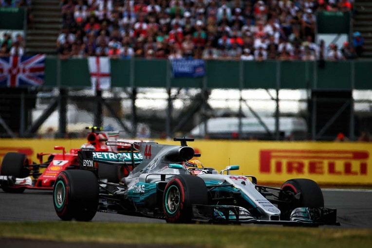 F1イギリスGPで4連覇を達成したハミルトン
