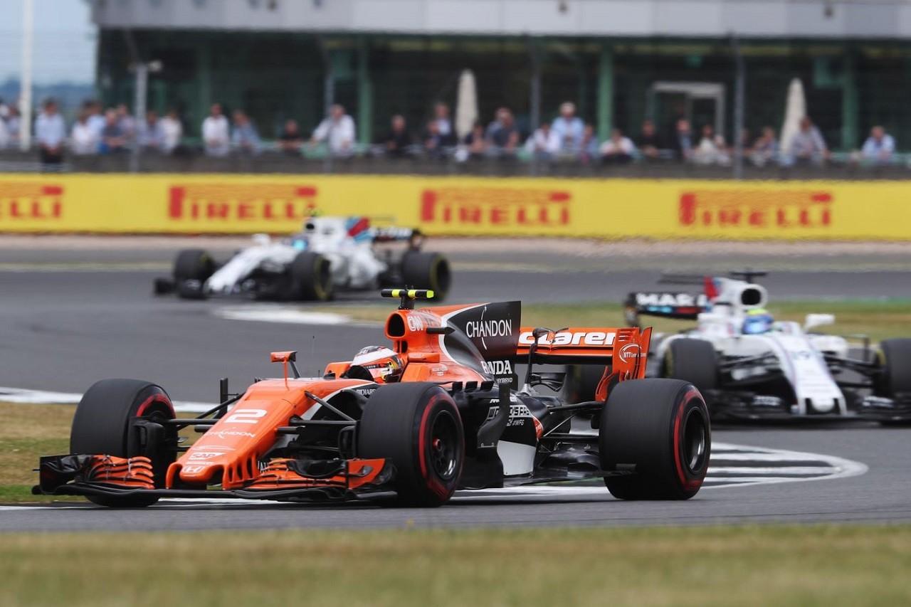 2017年F1第10戦イギリスGP ストフェル・バンドーン(マクラーレン・ホンダ)