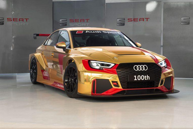 海外レース他 | アウディ、100台目のTCR用RS3 LMSを生産。発表から1年経たずに大台到達