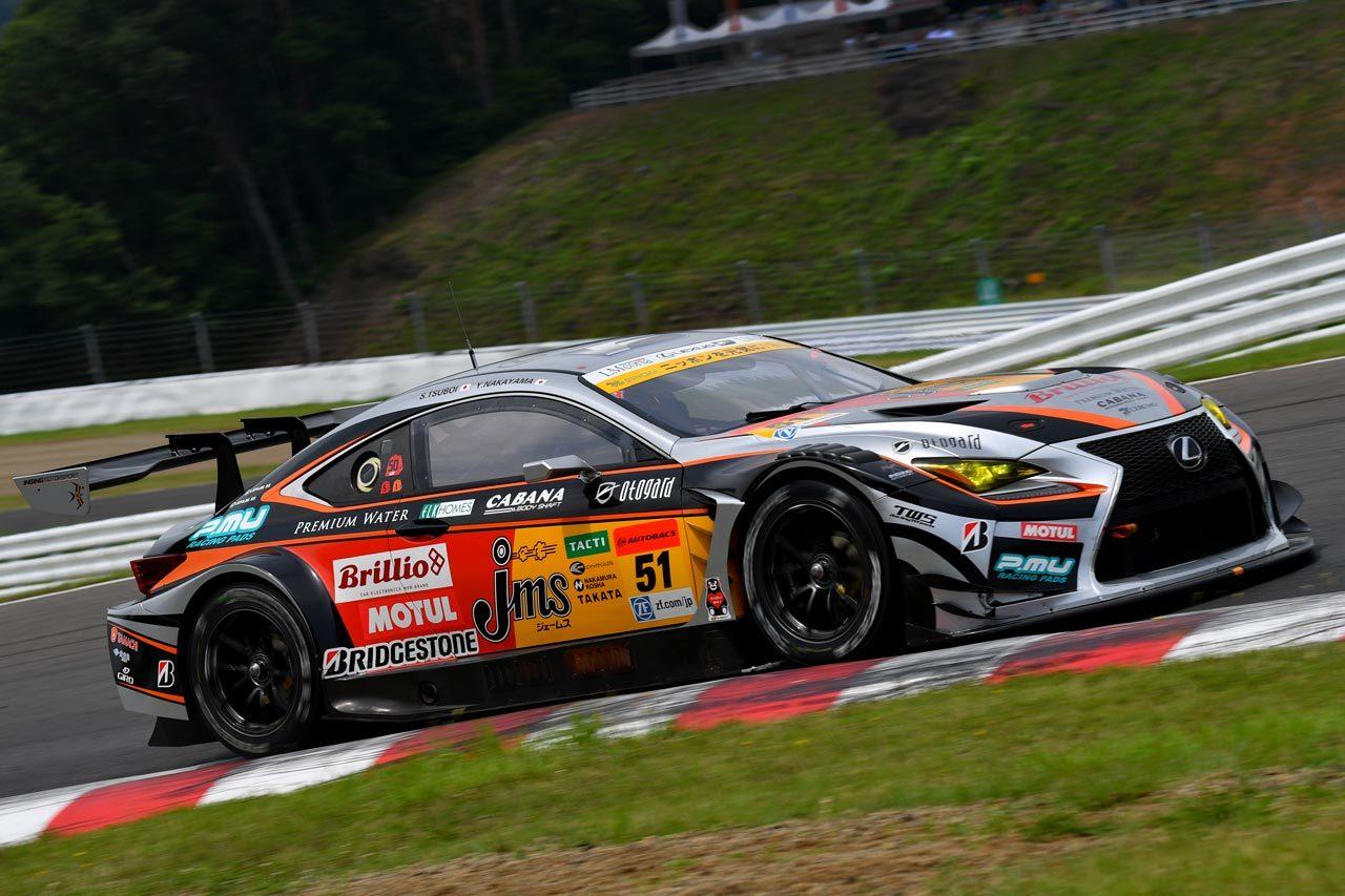JMS P.MU LMcorsa RC F GT3 スーパーGT第4戦SUGO 決勝レポート