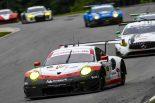 911号車ポルシェが新型ポルシェ911 RSRで初優勝を飾った