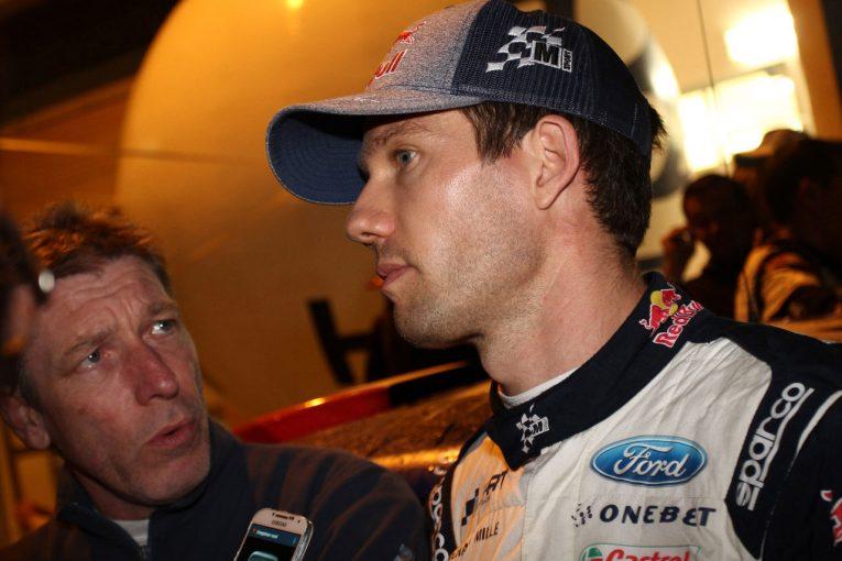 ラリー/WRC   WRC:フィンランド事前テストでクラッシュしたオジエ。「避けることはできなかった」