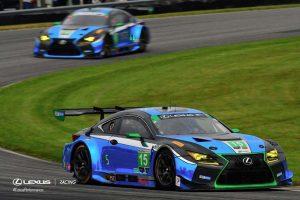 7位完走となった15号車レクサスRC F GT3