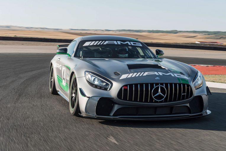 海外レース他 | メルセデス、最新GT4マシンの『メルセデスAMG GT4』詳細発表。価格は2582万円