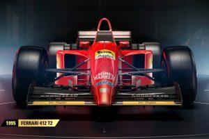 『F1 2017』に収録されるフェラーリ412 T2