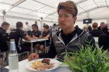ユーロF3に参戦している佐藤万璃音に夕食事情を直撃